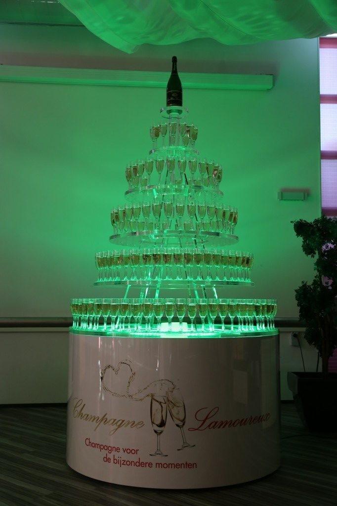 Champagnetoren groen